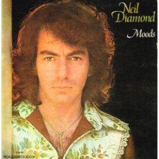Discos de vinilo: NEIL DIAMOND - MOODS - LP 1973 - PORTADA DOBLE. Lote 222344287