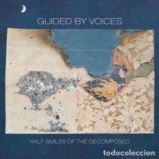 Discos de vinilo: LP GUIDED BY VOICES HALF SMILES OF THE DECOMPOSED VINILO ROJO. Lote 222344698