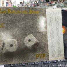 Discos de vinilo: P.V.P. LP LAS REGLAS DEL JUEGO 1984 EN PERFECTO ESTADO. Lote 222344827