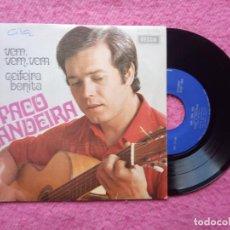 Discos de vinilo: EP PACO BANDEIRA - VEM, VEM, VEM / CEIFEIRA BONITA +2 SPEP 1390 - PORTUGAL PRESS (EX-/EX-). Lote 222347601