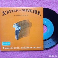 Discos de vinilo: EP XAVIER DE OLIVEIRA - TRISTAO DA SILVA +3 - EEP 50 206 - EP PORTUGAL (EX-/NM). Lote 222351832