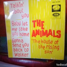 Discos de vinilo: THE ANIMALS -THE HOUSE OF THE RISING SUN- Y 3 MAS. Lote 222352653