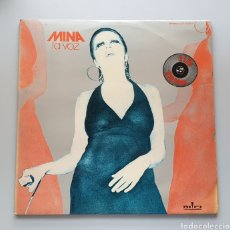 Discos de vinilo: 2 LPS - MINA - LA VOZ (ESPAÑA - RIFI - 1974) DOBLE LP. Lote 222357378