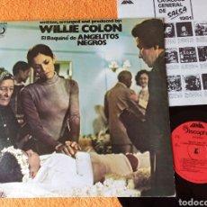 Discos de vinilo: WILLIE COLON ANGELITOS NEGROS LP. Lote 222358942