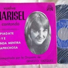 Discos de vinilo: MARISEL EP APIADATE NUEVO A ESTRENAR. Lote 222360636