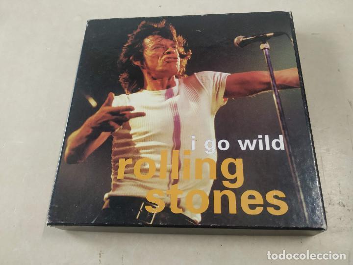 ROLLING STONES - I GO WILD - CAJA CON SINGLE PICTURE DISC Y LIBRETO - EDICIÓN LIMITADA 10.000 - UK (Música - Discos - Singles Vinilo - Pop - Rock Extranjero de los 90 a la actualidad)