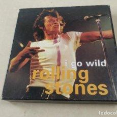 Discos de vinilo: ROLLING STONES - I GO WILD - CAJA CON SINGLE PICTURE DISC Y LIBRETO - EDICIÓN LIMITADA 10.000 - UK. Lote 222360788
