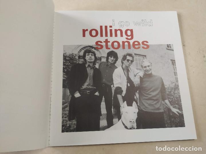 Discos de vinilo: ROLLING STONES - I GO WILD - CAJA CON SINGLE PICTURE DISC Y LIBRETO - EDICIÓN LIMITADA 10.000 - UK - Foto 5 - 222360788