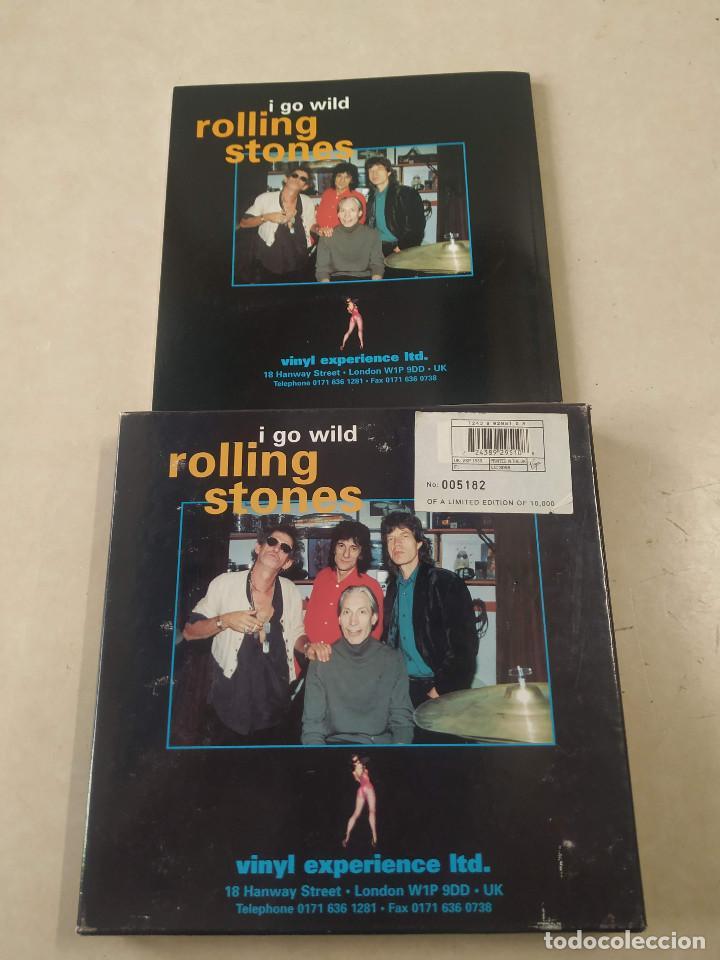 Discos de vinilo: ROLLING STONES - I GO WILD - CAJA CON SINGLE PICTURE DISC Y LIBRETO - EDICIÓN LIMITADA 10.000 - UK - Foto 7 - 222360788