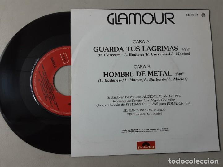 Discos de vinilo: GLAMOUR, GUARDA TUS LÁGRIMAS, HOMBRE DE METAL - Foto 2 - 222365561