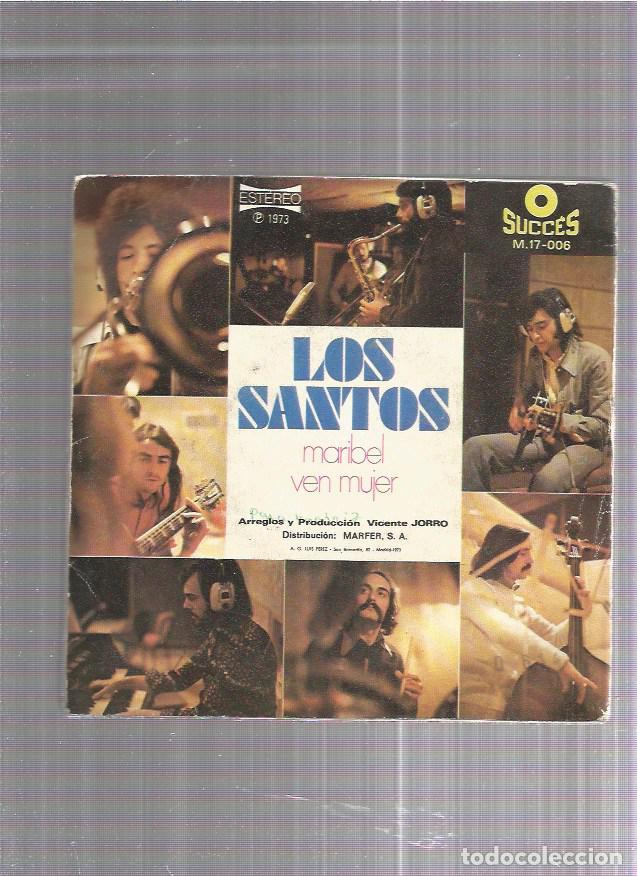LOS SANTOS MARIBEL (Música - Discos - Singles Vinilo - Grupos Españoles de los 70 y 80)