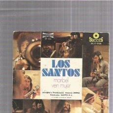 Discos de vinilo: LOS SANTOS MARIBEL. Lote 222368217