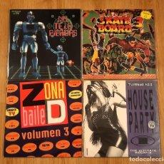 Discos de vinilo: LOTE VINILOS RECOPILATORIOS 90'S. Lote 222370100