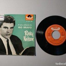 """Discos de vinil: 1020- RICKY NELSON JOVEN INFATIGABLE ESPAÑA SINGLE VIN 7"""" POR G+ DIS NM. Lote 222370363"""