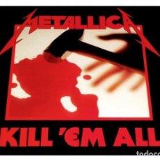 Discos de vinilo: V1035 - METALLICA. KILL 'EM ALL. LP VINILO. Lote 222370953