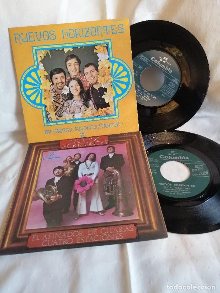 NUEVOS HORIZONTES VAINICA DOBLE 2 SINGLES PROMOCIONALES Y NUEVOS A ESTRENAR (Música - Discos - Singles Vinilo - Grupos Españoles de los 70 y 80)