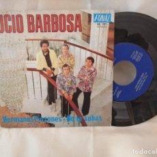 Discos de vinilo: LUCIO BARBOSA SINGLE NUEVO A ESTRENAR. Lote 222375560