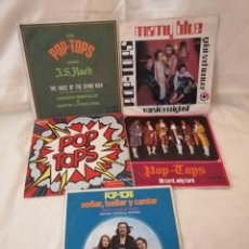 Discos de vinilo: POP TOPS LOTE 5 SINGLES MUY BUEN ESTADO VER DETALLE EN FOTO E INFORMACION ANEXA. Lote 222375931