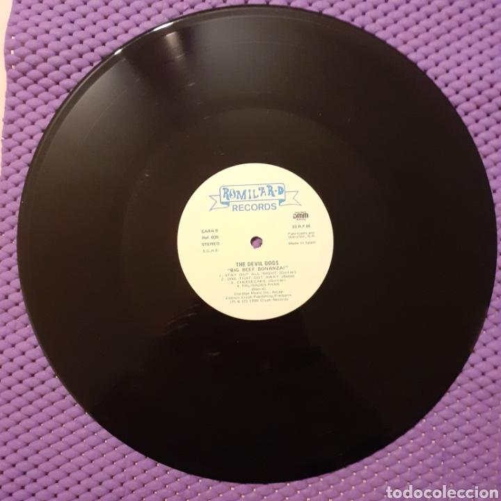 Discos de vinilo: The Devildogs. Big Beef Bonanza!. Romilar-D 1990 - Foto 4 - 222376301