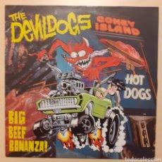 Discos de vinilo: THE DEVILDOGS. BIG BEEF BONANZA!. ROMILAR-D 1990. Lote 222376301
