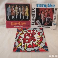 Discos de vinilo: POP TOPS LOTE 3 SINGLES BUEN ESTADO DE USO VER DETALLES EN FOTOS E INFORMACION ANEXA. Lote 222376992