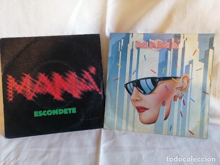 MAMA LOTE 2 SINGLES EN EXCELENTE ESTADO VER DETALLES EN FOTOS E INFORMACION ANEXA (Música - Discos - Singles Vinilo - Grupos Españoles de los 70 y 80)