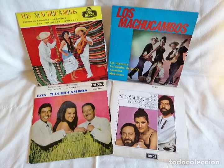 MACHUCAMBOS LOS, LOTE 3 EPS Y 1 SINGLE EXCELENTE ESTADO VER FOTOS Y MAS INFORMACION ANEXA (Música - Discos - Singles Vinilo - Grupos Españoles de los 70 y 80)