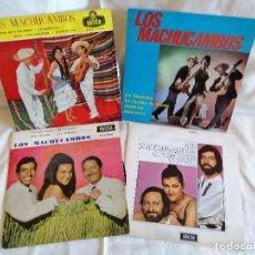 Discos de vinilo: MACHUCAMBOS LOS, LOTE 3 EPS Y 1 SINGLE EXCELENTE ESTADO VER FOTOS Y MAS INFORMACION ANEXA. Lote 222378143