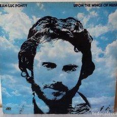 Discos de vinilo: JEAN LUC PONTY - UPON THE WINGS OF MUSIC ATLANTIC EDIC. ALEMANA - 1975. Lote 222378757