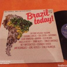 Discos de vinilo: MÚSICA FROM BRAZIL, LP VARIOS VELOSO, BUARQUE.... Lote 222379658