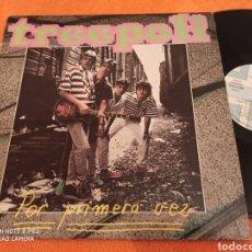 Discos de vinilo: TREEPOLI POR PRIMERA VEZ LP POP. Lote 222379886