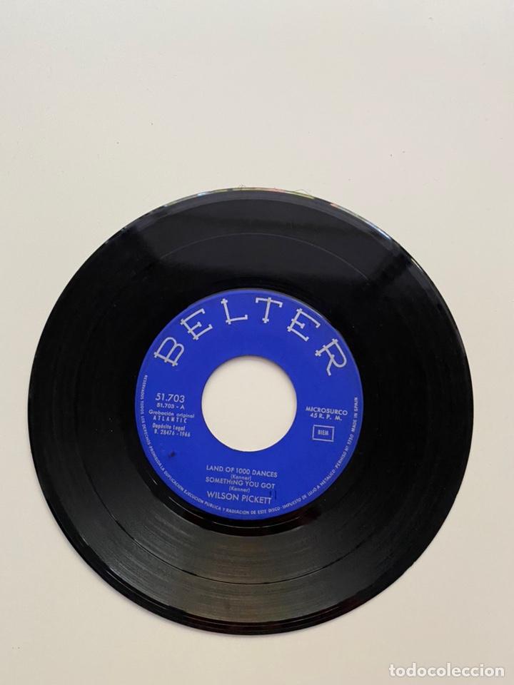 Discos de vinilo: WILSON PICKETT-LAND OF 1000 DANCES/SOMETHING YOU GOT/+2/EP 1966 BELTER 51.703,ESPAÑA. - Foto 2 - 222382391