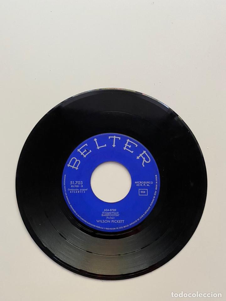 Discos de vinilo: WILSON PICKETT-LAND OF 1000 DANCES/SOMETHING YOU GOT/+2/EP 1966 BELTER 51.703,ESPAÑA. - Foto 3 - 222382391