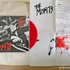 "Discos de vinilo: THE MISFITS BULLET VINILO ROJO - 7"" PUNK ROCK CON INSERT MUY RARO SEX PISTOLS DANZIG. Lote 222392405"