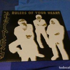 Discos de vinilo: LOTT24 LP NUEVO A ESTRENAR NEW WAKE UK 1999 THE SIRES RULERS OF YOUR HEART NUNCA FUE SELLADO. Lote 222393817