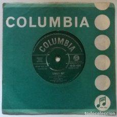 Discos de vinilo: PAUL ANKA. LONELY BOY/ YOUR LOVE. COLUMBIA, UK 1959 SINGLE. Lote 222396345