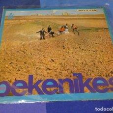 Disques de vinyle: EXPRO LP DESDE UN EURO A TU RIESGO PEKENIKES IDEM 1966 MUUCHA TRALLA. Lote 222397720