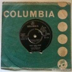Discos de vinilo: CLIFF RICHARD & THE SHADOWS. CONSTANTLY (L'EDERA)/ TRUE, TRUE LOVIN'. COLUMBIA UK 1964 SINGLE. Lote 222397956