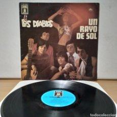 Discos de vinilo: LOS DIABLOS - UN RAYO DE SOL 1969 ED ALEMANA / ODEON. Lote 222401388