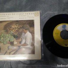 Discos de vinilo: AMANDIO CABRAL – MORNAS DE CABO VERDE. Lote 222402480