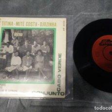 Discos de vinilo: CONJUNTO CABO VERDE – CONJUNTO CABO VERDE. Lote 222402486