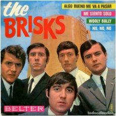 Discos de vinilo: THE BRISKS – NO, NO, NO (LEONARD BORISOFF) - EP SPAIN 1965 - BELTER 51.605 - MASPONS+UBIÑA. Lote 222410455