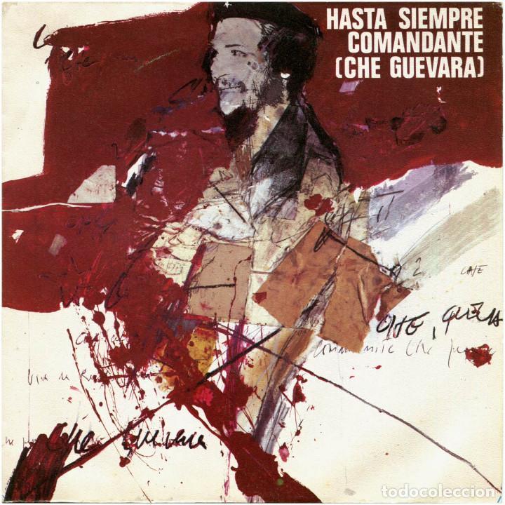 GRUPO FOLK – HASTA SIEMPRE COMANDANTE (CHE GUEVARA) - SG SPAIN 1976 - DISCOPHON S-5351 (Música - Discos - Singles Vinilo - Country y Folk)