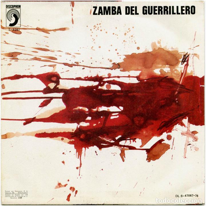 Discos de vinilo: Grupo Folk – Hasta Siempre Comandante (Che Guevara) - Sg Spain 1976 - Discophon S-5351 - Foto 2 - 222410841