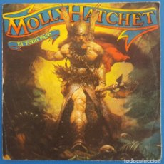 Discos de vinilo: SINGLE / MOLLY HATCHET / IT'S ALL OVER NOW (YA TODO PASÓ) - GOOD ROCKIN' / EPIC EPC 8084 / 1979. Lote 222411210