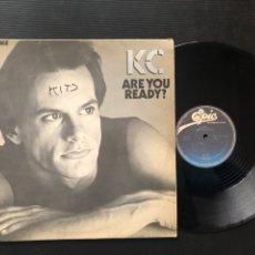 Discos de vinilo: KC ?– ARE YOU READY?. Lote 222413088