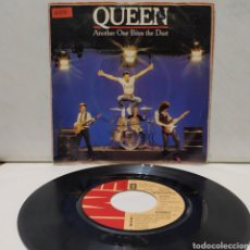 Discos de vinilo: QUEEN - ANOTHER ONE BITES THE DUST 1980 ED HOLANDESA. Lote 222413575