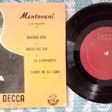 Discos de vinilo: SINGLE MANTIVANI Y SU ORQUESTA - ¡UNICO ENVIO A FINAL DE MES!. Lote 222414043