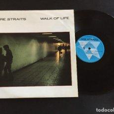 "Discos de vinilo: DIRE STRAITS WALK OF LIFE - MAXI SINGLE 12"" - UK. Lote 222415305"