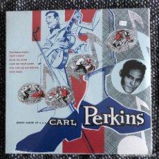 Discos de vinilo: CARL PERKINS - DANCE ALBUM OF... (1956) - LP REEDICIÓN RUMBLE 2016 NUEVO - 5 BONUS TRACKS. Lote 222417533